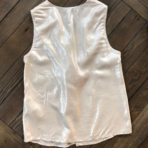 Zara basic collection Tops - Zara basic collection shimmery Champagne top